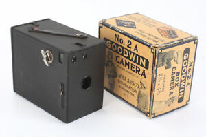 AGFA ANSCO NO. 2A GOODWIN, BOXED, ADVANCE DEFECTIVE, FOR DISPLAY ONLY/cks/198311