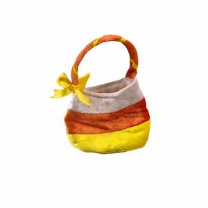 Build A Bear Halloween Candy Corn Trick or Treat Bag Accessory Unisex EUC