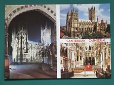 CANTERBURY CATHEDRAL KENT OLD POSTCARD UNUSED COLLECTORS