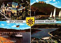Der Edersee im Ferienland Waldeck , Ansichtskarte ; gelaufen