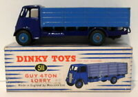 Vintage Dinky 511 - Guy 4 Ton Lorry - Blue