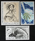 Timbre TAAF Stamp - Yvert et Tellier Aériens n°67 à 69 n** (Cyn23)