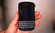 BlackBerry Q10 Black Color (ID Locked) AS IS .. Good Cosmetic Condition *no batt