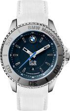 Ice-Watch BMW Motorsport Blue Dial White Leather Mens 43 mm Watch BM.WDB.U.L.14
