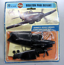 Airfix 1/72 Boulton Paul Defiant Vintage carded Packaging Model Kit