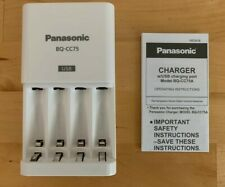 Panasonic Bq-Cc75Asba eneloop Individual Battery Charger with Usb Charging Port