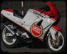 Cagiva 125 Freccia C12Sp 92 A4 Metal Sign Motorbike Vintage Aged