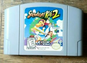 Snowboard Kids 2 (Nintendo 64, 1999) VG Shape  Authentic