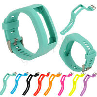 Sport Silicone Wrist Band Replacement Strap Bracelet For Garmin Vivosmart HR