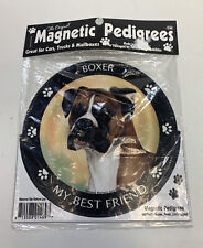 Magnetic Car Magnet Boxer Dog My Best Friend Magnetic Pedigrees Pet Gifts
