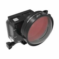 Magnifier Macro 58mm 24X Close-up Lens Filter Kit For GoPro Hero7 6 5 Camera