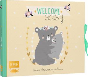 Welcome Baby: Unser Erinnerungsalbum, Edition Michael Fischer, Deutsch, NEU*