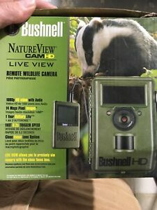 Bushnell Nature View HD Live View 1080p Video Low Glow Trail Camera (Open Box)