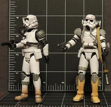 Star Wars Force Unleashed 2 Stormtroopers loose IMPERIAL Evo & JUMPTROOPER New