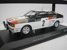 Audi Quattro #2 Swedish Rally 1981 Mikkola 1/18 Minichamps 155811102 NEW