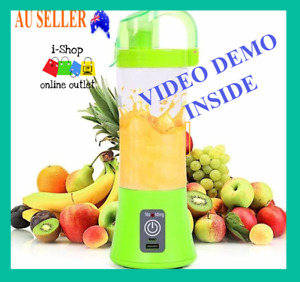 Blender Portable Usb Juicer Rechargeable Cup Mixer Fruit Smoothies Mini Machine