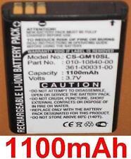 Batteria 1100mAh Per GARMIN GPS Cellulare 10 10x, 010-10840-00, 361-00031-00