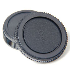 Plastic Set Rear lens Body cap for Olympus Camera OM 4/3 E620 E520 E510 BS
