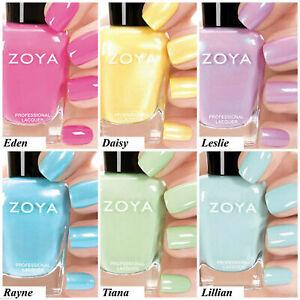 Zoya - Delight Collection - Spring Shimmer & Creme Nail Polish 15ml / 0.5 fl oz