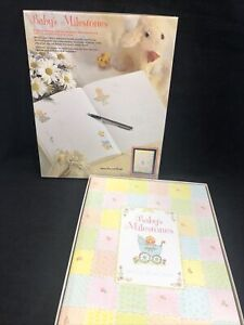 Vintage 197Os Babies Milestone Record Book C.R. Gibson USA