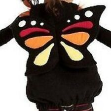 Old Navy Butterfly Costume Black Orange Size 6 - 12 Months #7784