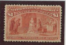 U.S. Stamps Scott #241 MINT,No Gum,F-VF (X8459N)