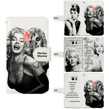 Marilyn Monroe Flip Wallet Cover Phone Case fit For Google Huawei Stylo 5