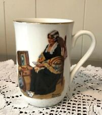 """Authentic Norman Rockwell Museum """"Memories� Mug Cup Vintage 1982"""