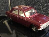 Dinky 510 Peugeot 204 -Red Reproduced by Atlas Editions