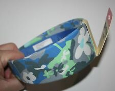 New OshKosh Blue Wide Floral Headband Hair Accessory NWT
