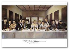 Kunstdruck Poster Renato Casaro Invitation Abendnmal hochwertig gedruckt 70x100