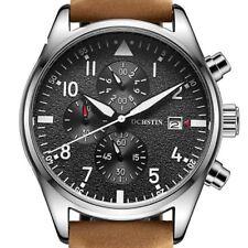 Montre Pour Homme Model De Luxe OCHSTIN Chronographe Date Bracelet En Cuire