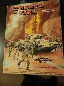 ASL Streets Of Fire Deluxe Advanced Squad Leader Module 1 Avalon