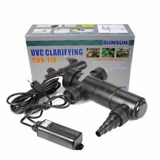 UV Sterilizer 18W UVC Light Lamp Clarifier Sunsun CUV-118 for Aquarium Pond Fish
