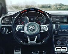 Carbon Fibre LED Racing Wheel with Alcantara – VW Golf MK7/7.5 R & GTI