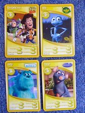 Morrisons Disney 4 Cards  20th Anniversary Collection K1 K2 K3 K7 Toy Story Bugs