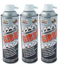 Gibbs Brand Lubricant, Penetrating Oil, Multi Purpose, Metal Protector (3 x12oz)