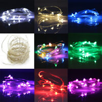 10m/5m/2m1m LED String Battery/USB/12V Supply Copper Wire Fairy Light Xmas Party