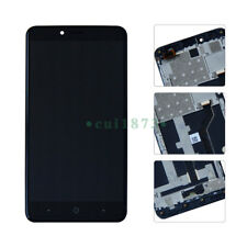 USA LCD Touch Screen Digitizer Replacement Frame For 6.0  ZTE Blade X Max Z983