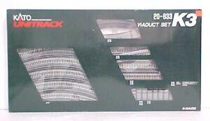 Kato 20-833 N Scale Unitrack K3 Viaduct Set LN/Box