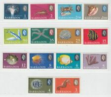 BARBADOS  1965  ISSUE UNUSED**  FULL SET SCOTT 267/80