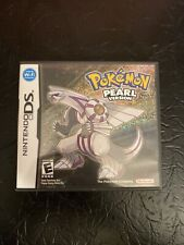 Pokemon Pearl Version (Nintendo 3DS, 2007)  CASE AND MANUAL ONLY
