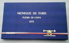 FRANCE COFFRET FDC 1975 - 9 MONNAIES