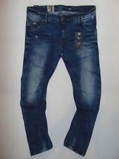 G-Star Raw ARC 3D Slim  W36 L34  Mens Blue Light Aged Wisk Denim Jeans