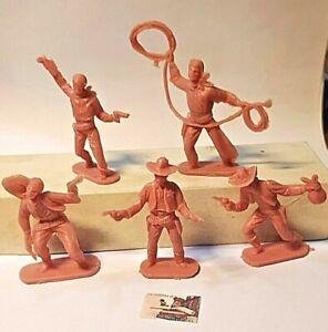 Soldatini Toy Soldiers Senza Marca Cowboys scala 1:32 cm 6,5