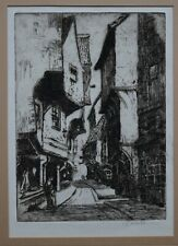 A VIEW OF THE SHAMBLES IN YORK BY ELLA COATES - BANKS
