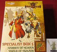 Wrath of Kings WOK03006 House Shael Han Specialist Box 1 (2) Miniatures Champion