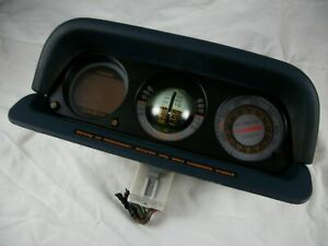 1995-99 Mitsubishi Montero Inclinometer Altimeter Compas Gauges MB796225