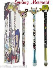 Tokidoki PITTURA~VERY RARE LIMITED EDITION~ 3 Brush COLLECTOR'S SET New in Box!