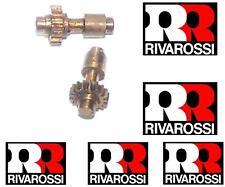 RIVAROSSI 151-030 N.2 ASSE INGRANAGGIO SAG. con RUOTA DENTATA in OTTONE SCALA-HO